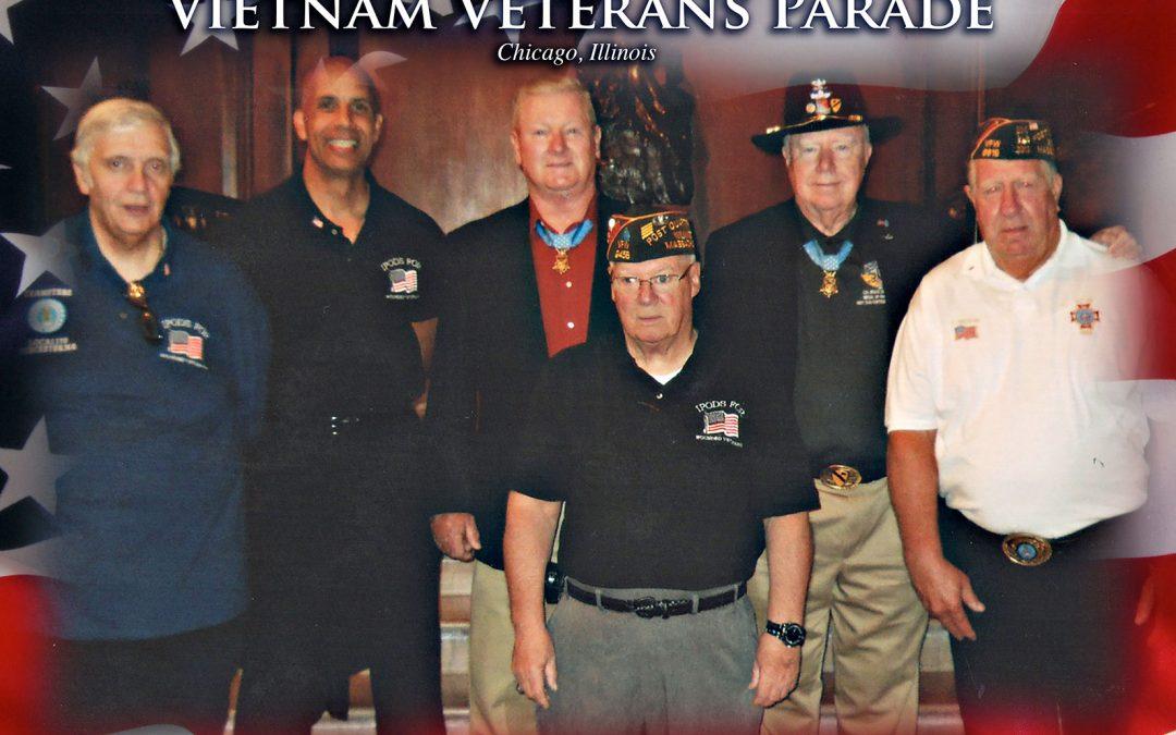 First Annual Vietnam Veterans Parade