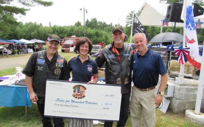 Thank you Patriot Riders for your generous Donation!