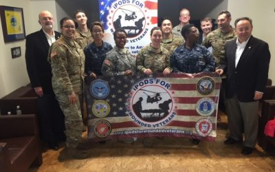Teamster-Led Non-Profit Celebrates 22nd Mission to Assist Wounded Veterans