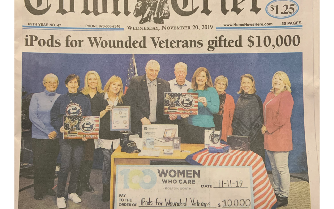 iPods for Wounded Veterans gifted $10,000 – Wilmington Town Crier