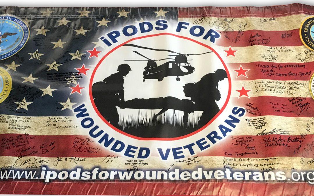 Veterans sign their thanks